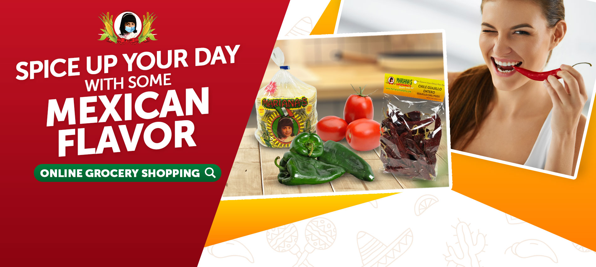 SPICE UP YOUR DAY WITH SOME MEXICAN PLAVOR ONLINE GROCERY SHOPPING